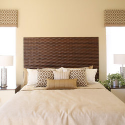 Soelberg Industries - Headboards by Soelberg Industries - Our custom headboards are available in many different patterns and finishes. Available in twin, full, queen, and king. They come ready to hang on the wall and include hardware.