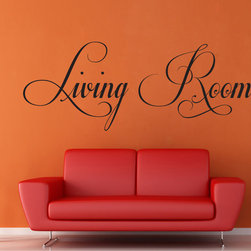 StickONmania - Living Room #2 Sticker - Another living room sticker for your home. Decorate your home with original vinyl decals made to order in our shop located in the USA. We only use the best equipment and materials to guarantee the everlasting quality of each vinyl sticker. Our original wall art design stickers are easy to apply on most flat surfaces, including slightly textured walls, windows, mirrors, or any smooth surface. Some wall decals may come in multiple pieces due to the size of the design, different sizes of most of our vinyl stickers are available, please message us for a quote. Interior wall decor stickers come with a MATTE finish that is easier to remove from painted surfaces but Exterior stickers for cars,  bathrooms and refrigerators come with a stickier GLOSSY finish that can also be used for exterior purposes. We DO NOT recommend using glossy finish stickers on walls. All of our Vinyl wall decals are removable but not re-positionable, simply peel and stick, no glue or chemicals needed. Our decals always come with instructions and if you order from Houzz we will always add a small thank you gift.