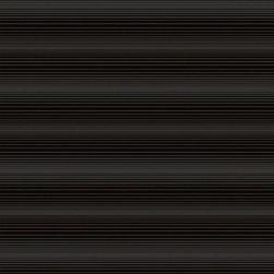 Wallpaper Worldwide - Carly - Horizontal Stripes Wallpaper, Black, Grey - Material: PVC