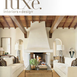 Luxe Magazine San Diego - Our Waterstone Gantry Faucet is seen in Luxe Magazine San Diego. A beautiful Tuscan style kitchen design in Malibu California. Kitchen includes a Waterstone Traditional Gantry Faucet Suite and an Annapolis Kitchen Faucet. Photos by Nick Johnson