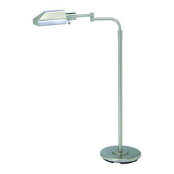House of Troy - House of Troy PH100-52-J Floor Lamp - Base/Backplate: 10.5""