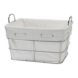 Creative Bath Aspen Large Storage Basket - About Creative BathFor over 30 years Creative Bath has developed innovative stylish bathroom decor items. They have grown exponentially and now you can find their products in major retail and online stores around the world. From shower curtains to soap dishes and everything in between Creative Bath brings you high quality items to enhance your lifestyle.