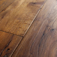Mediterranean Hardwood Flooring by Vintage Elements LLC