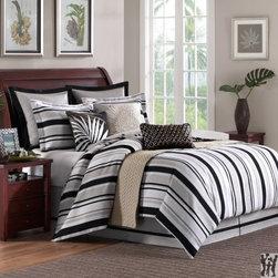 Hampton Hill Pine Manor Queen 9pc Duvet Style Comforter - Hampton Hill Pine Manor Queen Comforter Set