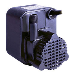 "Little Giant - Little Giant 518200 PE-1 Small Submersible Pump - This small submersible pump features an epoxy-encapsulated pump, and is versatile enough for use with commercial, industrial, and home applications. It features an inlet screen that helps protect the pump from debris, and it has a 1/4"" MNPT outlet that accepts any any 1/2"" I.D. flexible tubing. Ideal uses for this pump include statuary fountains, water displays, air conditioners, machine tools, and many others."