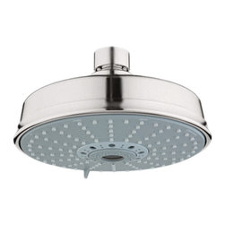 Grohe - Grohe 27130EN0 Shower Head In Infinity Brushed Nickel - Grohe 27130EN0 from the Rainshower Heads and Accessories add a new level of performance to your shower. The Grohe 27130EN0 is a Shower Head With a Brushed Nickel Finish for an appearance set apart from the traditional chrome.