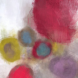"""ECO Surface No 56. Canvas Print by Irena Orlov - 100% Cotton: 1-1/2"""""""" deep Giclee Print+Gallery Stretching"""
