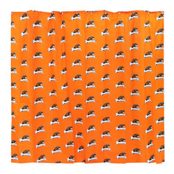 College Covers - NCAA Oregon State Beavers Shower Curtain Bathroom Decoration - Features: