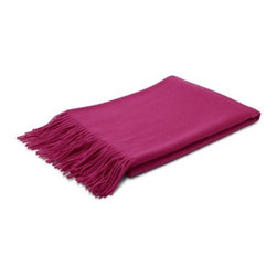 Wool Tassel Throw Blanket - This wool throw comes in a load of different colors. It's perfect for a quick change-up depending on the season.