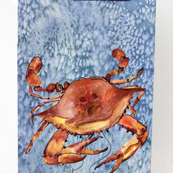 Caroline's Treasures - Cooked Crab Cool Blue Water Michelob Ultra Koozies for slim cans 8147MUK - Cooked Crab Cool Blue Water Michelob Ultra Koozies for slim cans 8147MUK Fits12 oz. slim cans for Michelob Ultra, Starbucks Refreshers, Heineken Light, Bud Lite Lime 12 oz., Dry Soda, Coors, Resin, Vitaminwater Energy, and Perrier Cans. Great collapsible koozie. Great to keep track of your beverage and add a bit of flair to a gathering. These are in full color artwork and washable in the washing machine. Design will not come off.