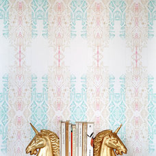 Eclectic Wallpaper by Burke Decor