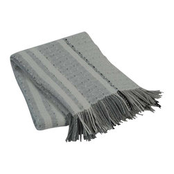 "Happy Blanket - Throw Blanket 51""X75"" - Wool is a natural temperature regulator, naturally hypoallergenic, naturally breathable and even improves sleep quality."
