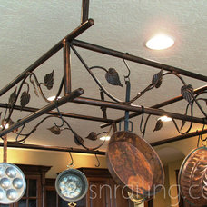 Traditional Pot Racks And Accessories by SN Custom Railing, Inc