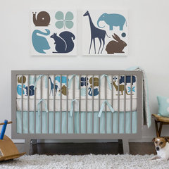modern baby bedding by Design Public