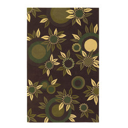 "Emma At Home EMM19909 Designer Rug - 5' x 7'6"" - Award-winning designer Emma Gardner, chief designer and principal at emma gardner design, has been creating striking and vibrant rugs for consumers, interior designers and architects since 2002 from her Litchfield, Connecticut studio."