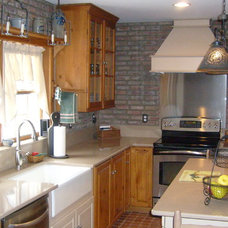 Traditional Kitchen by Paulson's Construction, Inc