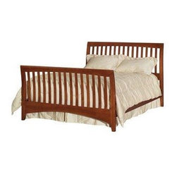 Bestsellers - Kincaid Gathering House Sleigh Bed Package Queen 5/0 43-131P