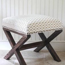 Projects / DIY X-Leg Bench