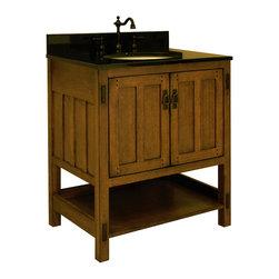 "30"" American Craftsman Single Bath Vanity (AC3021) -"