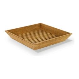 Westminster Teak Furniture - Westminster Teak Spa Vanity Tray - The Pacifica teak vanity tray is made from eco-friendly renewable plantation grown teak. It will last a lifetime in moist, wet conditions of a bath, sauna, or hot tub. Our teak vanity tray is the perfect size for most bath rooms and it makes a great housewarming gift since its warm wood tone will match any decor and comes with a lifetime warranty. Picture a romantic evening, with your significant other, a garden tub or hot tub, the teak vanity tray nearby with your favorite aroma therapy fragrance or candle and relax to music of your choice.