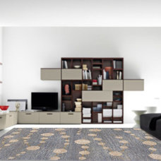 Contemporary Carpet Flooring by Rugsville