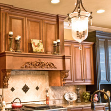 Traditional Kitchen Cabinetry by UC Design