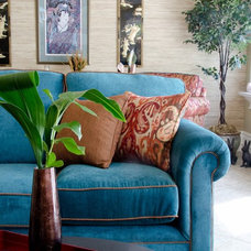 Traditional Living Room by Arlene Best Interiors