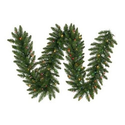 12 in. x 9 ft. Camdon Fir Multi-Color Pre-lit Garland - About VickermanThis product is proudly made by Vickerman a leader in high quality holiday decor. Founded in 1940 the Vickerman Company has established itself as an innovative company dedicated to exceeding the expectations of their customers. With a wide variety of remarkably realistic looking foliage greenery and beautiful trees Vickerman is a name you can trust for helping you create beloved holiday memories year after year.