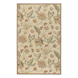 Surya - Surya RAI1011-912 Rain Transitional Hand Hooked Rug - Rain or shine, these rugs look great outdoors! These hand hooked all weather rugs are manufactured to withstand the rigors of outdoor use. You don't need to worry about ruining your rug by spilling a drink or dropping food, just hose off and it's clean! The colors and designs we specially created to add to the outdoor ambiance.