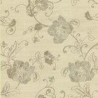 Bainbridge Arabesque Bloom Wallpaper - Bainbridge Wallpaper Collection from AmericanBlinds.com
