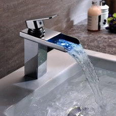 Modern Bathroom Sink Faucets by Jollyhome