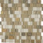Glass & Stone Mosaic - Ceramic Tileworks - Nightfall Mosaic / Dusk