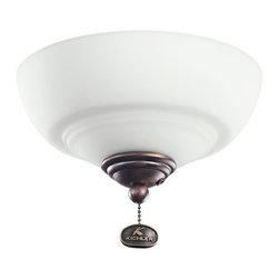 Kichler Lighting - Kichler Lighting Decor Bowl 30-36 Ceiling Fan Light Kit X-BBO321083 - Kichler Lighting Decor Bowl 30-36 Ceiling Fan Light Kit X-BBO321083