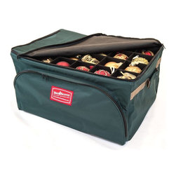 Tree Keeper - 2 Tray Ornament Keeper Storage Bag - - Features 2 lightweight removable trays with handles