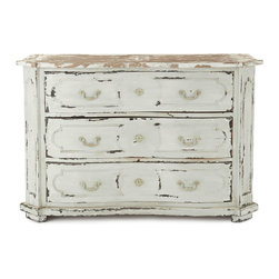 Devino Chest - Whether you use it as an accent piece or as a chest for the bedroom, this versatile storage chest brings a distinctly vintage vibe to room decor.
