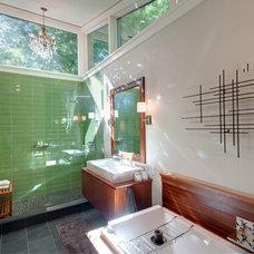 Contemporary Bathroom by Benco Construction