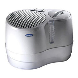 Lasko Products - 9 Gallons Recalculating Humidifier - The 9.0-gallon Recirculating Humidifier offers contemporary styling and efficient humidification up to 3 200 square feet making it ideal for multiple rooms and large living areas. 9.0-Gallon Output per Day (4.5-Gallon Water Capacity).