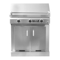 TEC - TEC Sterling III FR Infrared Grill   Cabinet   NG - ST3NTFR - ST3CAB - TEC Gas Grills Sterling III FR Infrared Natural Gas Grill On Cabinet
