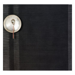 Chilewich - Chilewich Rectangle Tuxedo Stripe Placemat - Black, Set of Four - Rich, sophisticated and smart … the ideal dinner companion. These handsome tuxedo-striped placemats compliment your table to the max.