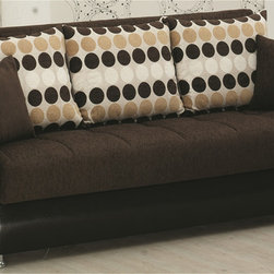 None - Illinois Sofabed - It is a sofa, an extra bed and a hidden storage ergonomically convertible. All these benefits come with 3 features available on Illinois Convertible Sofa Bed.