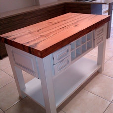 Traditional Kitchen Islands And Kitchen Carts by Urban Tree Salvage