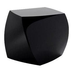 Fine Mod Imports - Cube Fiberglass Ottoman - Features: