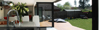 Sunflex UK - trade, we design and manufacture folding and sliding doors in alumi