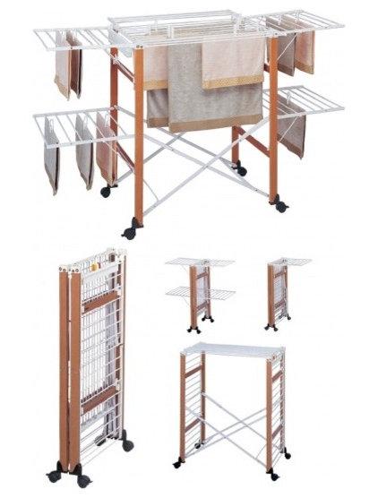 Contemporary Dryer Racks by Lazzari USA - a brand of Foppapedretti