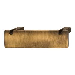 Hafele - Hafele 108.58.101 Bronze Drawer Pulls - Hafele item number 108.58.101 is a beautifully finished Bronze Drawer Pull.