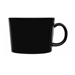 Iittala - Teema Tea Cup Only, Black - If it's time to retire grandma's china set, why not go for a modern take on the classic tea cup? These chic ceramic cups are the perfect size for your afternoon brew, and when teatime is finished, simply place these in the dishwasher for easy cleanup.
