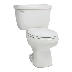 St Thomas Creations - St Thomas Creations 6201.033.01 Marathon 17-Inch High Elongated Toilet Bowl in W - 17-Inch High Elongated Toilet Bowl in White belongs to Marathon  Collection by St Thomas Creations Our Eclipse toilets have long been recognized as one of the most reliable and efficient toilets in the industry. Designed for extraordinary flushing performance, the Performance Plus Flushing System addresses the environmental efficiency and poor performance issues long associated with 1.6-gallon per flush low-flow toilets.  Toilet Bowl (1)