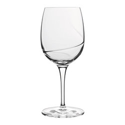 Luigi Bormioli - Luigi Bormioli Aero 12.25 oz. Red Wine Glasses - Set of 6 - 10937/01 - Shop for Drinkware from Hayneedle.com! Red wine aficionados will enjoy relaxing with their favorite vintage drinking from these Luigi Bormioli Aero 12.25 oz. Red Wine Glasses - Set of 6. Constructed with completely lead-free blown glass the glasses were expertly constructed with a spiral optic on the inside of their bowl a design feature that allows for fast wine aeration and full enhancement of aromas and flavors. The glasses feature a large capacity of more than 12 ounces with a form that also creates a natural comfortable feel in the hand. Made in Italy the set is dishwasher safe.About Luigi BormioliFounded in 1946 by Mr. Luigi Bormioli himself the Bormioli family continues Luigi s mission of commitment to great design traditional Italian craftsmanship and new innovative glassmaking technology to produce the world s most beautiful and durable glassware. Producers of wine glasses tumblers decanters and everything in between Luigi Bormioli is located in Parma Italy halfway between Bologna and Milan and is influenced by the region s reputation for art music and higher learning. Bormioli s glassmaking construction rivals fine crystal in its appearance but is 100-percent lead-free affordable and widely available.
