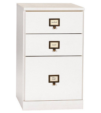 Contemporary Filing Cabinets And Carts by Ballard Designs