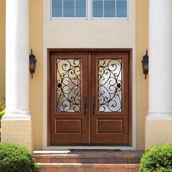 Fiberglass Double Doors -